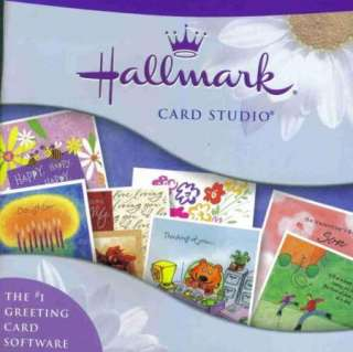 Hallmark Card Studio 2005 PC CD greeting cards easy 2CD