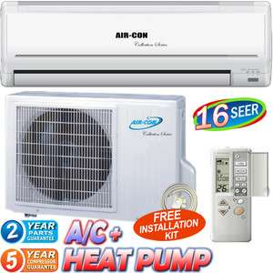 Mini Split Air Conditioner AC & Heater, Ductless Heat Pump Inverter A