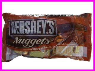 12 0z Hersheys Nuggets Milk Chocolate Toffee Almonds