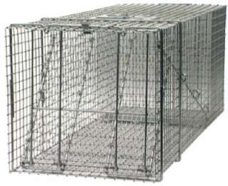 42 Inch Professional Live Animal Cage Trap 036348010814