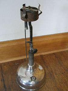 ANTIQUE Vintage COLEMAN~ Quick Lite~ Chrome~Lantern Lamp
