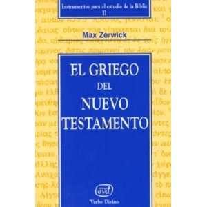 Instrumentos para el estudio de la Biblia.): Maximiliano Zerwick