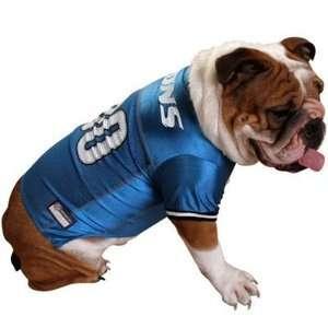 NFL Authentic Dog Jersey S, M & L, Detroit Lions, Pet Shirt/Clothes