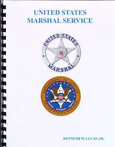 MARSHAL SERVICE Chronology of Badges by Lucas
