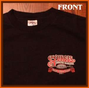 Sturgis Motorcycle Rally Bike Week 2007 T Shirt M