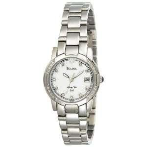 New, Authentic Bulova Marine Star Diamond Bezel Watch, Ladies / Womens