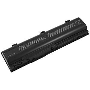 Battery Pros Replacement Battery for Dell Laptops, Black Computers