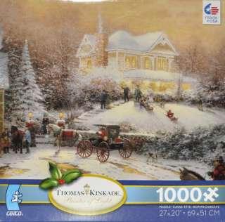 Ceaco Thomas Kinkade Victorian Christmas II Jigsaw Puzz