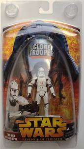 STAR WARS ROTS TARGET EXCLUSIVE CLONE TROOPER FIGURE NM