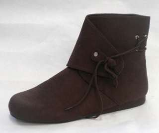 Peter Pan Robin Hood Medieval Peasant Costume Shoes Boots 8