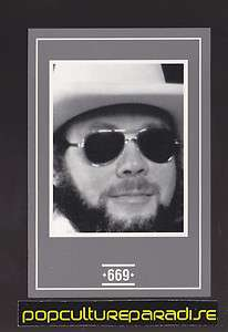 HANK WILLIAMS JR. Country Music Picture Rare GAME TRADING CARD