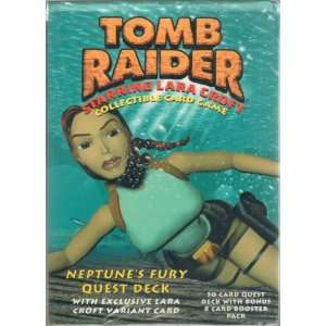 Tomb Raider Collectible Card Game (Neptunes Fury