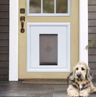 PETSAFE PANEL PET DOG DOOR INSERT IN WHITE RPA00 12116