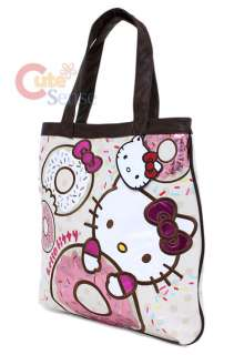Sanrio Hello Kitty Tote Bag Donuts Loungefly 2