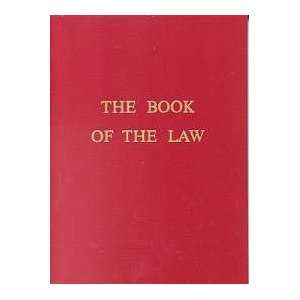 Thelema book of the law pdf
