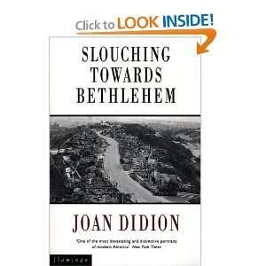 Slouching owards Behlehem (9780006545897) Joan Didion Books