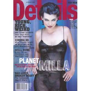 Details Magazine (Milla Jovovich Cover, October 1999