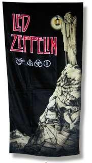 LED ZEPPELIN Hard Rock Heavy Metal STAIRWAY TO HEAVEN BEACH TOWEL with