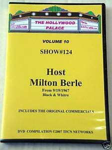 THE HOLLYWOOD PALACE DVD VOLUME 10 Milton Berle