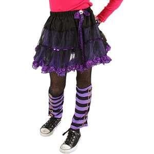 Monster High Petti Skirt, Purple Skirt, Girls Petti Skirt