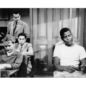 SIDNEY POITIER GREGORY W. MILLER VIC MORROW ARTIE WEST