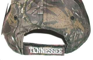 CAMO TENNESSEE UT VOLS BALL CAP / HAT ~ VOLUNTEERS