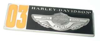 HARLEY DAVIDSON MOTORCYCLES 100 YEARS LIMITED EDITION PIN