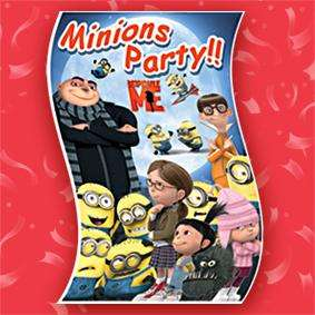 NEW* DESPICABLE ME 4 plastic banners Minions Party!!