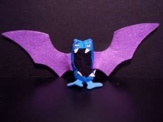 Pokemon Plush Golbat Burger King Stuffed Bat Figure Toy