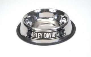Harley Davidson Stainless Steel Pet Dog Bowl 32oz