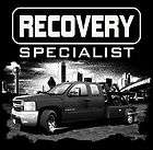 more options black t shirt recovery specialist s repo rebel