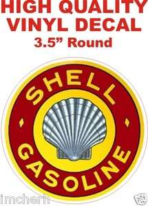 Nice Vintage Style Shell Gasoline Gas Oil Pump Decal The Best or 100%