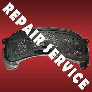 GM GMC Chevrolet Chevy Speedometer Instrument Cluster Gauge IPC Repair