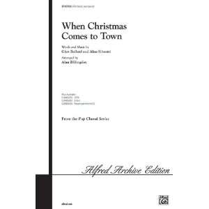When Christmas Comes to Town (from The Polar Express) Choral Octavo