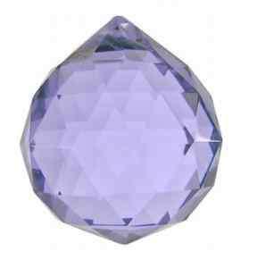 20 Purple Swarovski Crystal Ball Wedding Centerpieces