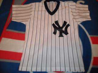 New York Yankees Home Pinstriped Jersey Youth size Medium Large