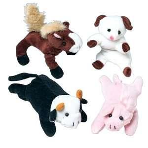 Mini Bean Bag Farm Animals Toys & Games
